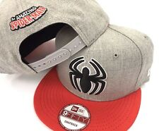 Spider-Man Marvel Comics New Era NBA 9FIFTY Heather Neon Mens Snapback Hat Cap