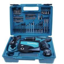 Makita HP330DWEX3 108V 1.3Ah Cordless Driver Drill 74pcs Acc / 220V Charger