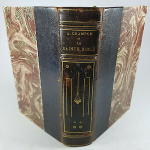 LA SAINTE BIBLE trad A.Crampion 1923 religion Eglise christianisme texte sacré
