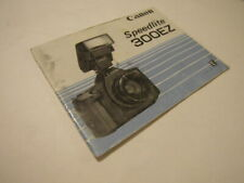 CLEAN ORIGINAL GENUINE CANON 300EZ 300 EZ FLASH USER INSTRUCTION MANUAL BOOK