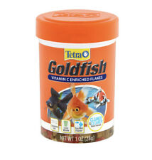 Tetra Goldfish Vitamin C Enriched Flakes Fish Food, 1 oz