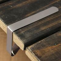 4X Edelstahl Tischtuch Tischdecke Klammern Tischklammer Halter Tischklemmen H1Z1
