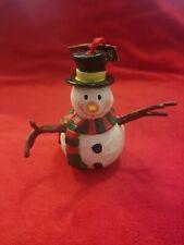 Adorable Vintage Snowman Christmas Tree Ornament Midwest Cannon Falls