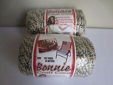 Lot of 2 Rolls Sandalwood 6mm Bonnie Braid Braided Macrame Craft Cord 200yds