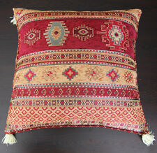 Pillow Turkish Pillow Gobelin Fabric Made Pillow 17.3″X17.3″(83)