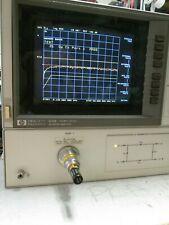 20 Ghz Vector Network Analyzer Perfect Hp8720b 2 Port S Parameters Measurements