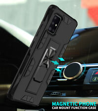 Shockproof Ring Stand Armor PC Case Cover For Samsung A10e A20e A20 A30 A51 A71