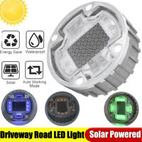 Solar Panel Outdoor Underground Light 10LEDS Waterproof For Driveways Courtyards