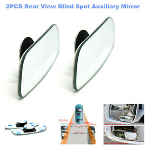 2pcs Universal Car SUV 360° Wide Angle Convex Side Rear View Blind Spot Mirrors