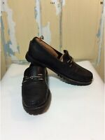 Cole Hann Black Leather Loafers With Mens Size 8.5