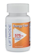 Liftmode All Natural Energy Booster Capsules - 60-count | Best Stimulant Energy