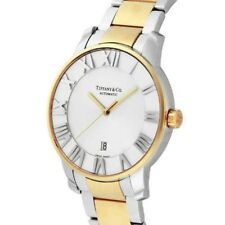 Tiffany & Co Automatic Mens Watch Atlas Dome Z1810.68.15A21A00A Fast Ship Japan