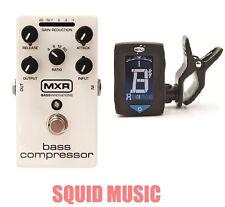 MXR Dunlop M87 Bass Compressor Bass Effects Pedal ( FREE GUITAR TUNER ) M-87