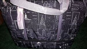 vera bradley Midtown Travel Bag City Sketch NWT
