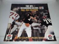 Vintage 1982 1983 NFL Recordbreakers Football Pizza Hut Calendar