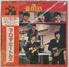 BEATLES The British Are Coming 3D NEW SEALED Japanese Vinyl LP #05799 FREE SHIP!