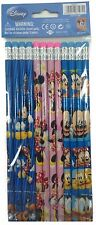 Disney Mickey Mouse 12x Pencils School stationary Supplies party favors gift