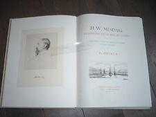 H. W . MESDAG PEINTRE DE LA MER DU NORD RARE 1896