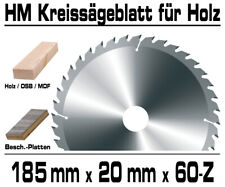 Hartmetall Kreissägeblatt 185 x ...