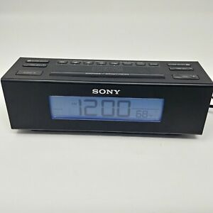 Sony Dream Machine AM/FM Dual Alarm Clock Radio ICF-C707 with Nature Sounds