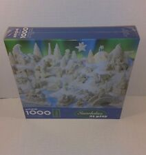"Springbok Snowbabies at Play 1000 Pieces 24"" x 30"" Department 56 Puzzle Hallmark"