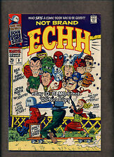 1 1968 Not Brand Echh #9 VG/FN First Print Giant Size Marvel Satire Spoof Ecch