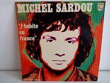 MICHEL SARDOU J habite en France 6311056