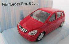 Mercedes-Benz B Class / Rot / Druckguss- Modell 1:43 / Mondo Motors / Neu OVP