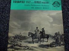 Tchaikovsky 1812 and Hamlet Overtures L P O Sir Adrian Boult Vinyl LP ( ACL 10 )