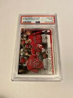 2019 Topps Update Mike Trout Shohei Ohtani #US189 PSA 9 MINT Angels