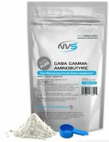 NVS 100% PURE GABA GAMMA AMINOBUTYRIC ACID POWDER USP SLEEP NONGMO VEGAN USA