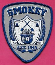 "USFS US Forest Service NEW 3"" x 4"" 2015 Smokey The Bear ""Est. 1944"" Cloth Patch"