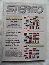 STEREO 12/89.  NAIM AUDIO NAC 72,NAP 250,HI-CAP.CARVER TL 3300,PIEGA LDS 1.5