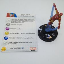 Heroclix Marvel 10th Anniversary set Iron Man #009 Common figure w/card!