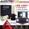 2X AUXITO 9140 9145 LED Fog Light bulb White For Ford F-150 F-250 F-350 2800LM E