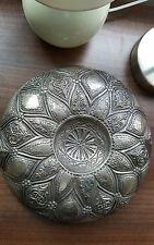 Argento anticato bagno turco ottomano Ciotola 19th secolo con tughra Mark.