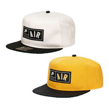 Adult Unisex Nike Air Pro Snapback Cap Hat White Yellow Black AV6722 739 / 133