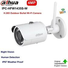 Dahua IPC-HFW1435S-W 4MP WiFi Bullet IP Camera IR H.265 Night Vision Human Detec