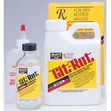 Rx For Dry Rot Git-Rot, Repair Transoms, Decks & Soft Spots In Fiberglass Boats