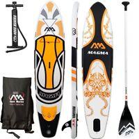 "Aqua Marina Magma 10'10"" (6'' Thick) Stand Up Paddle Board Inflatable SUP"