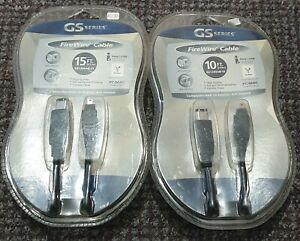 GS SERIES FIREWIRE CABLE 15 AND 10FT 😮😮😮