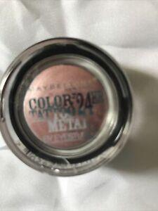 Maybelline - Color Tattoo 24hr Metal Cream Gel Eye Shadow, 55 Inked in Pink