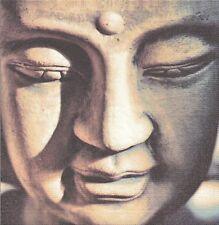 2 Serviettes en papier Inde Bouddha - Paper Napkins Reflecting Buddha
