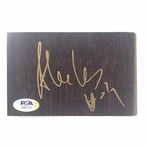 Alex Len Signed Floorboard PSA/DNA Washington Wizards Autographed