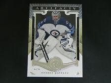 2015-16 UD Artifacts Base Card #14 Ondrej Pavelec Winnipeg Jets