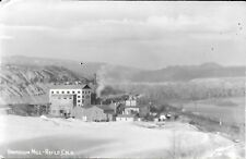 RPPC of Winter Scene at the Vanadium Mill at Rifle Colorado 1947