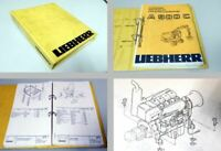 Ersatzteilkatalog Liebherr A900C Ersatzteilliste Spare Parts List 1991