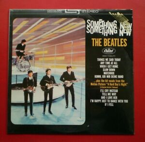 The Beatles PROMO LP SEALED ( SOMETHING NEW ) STEREO  GOLD FOIL STAMPED M/NM