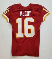 #16 Colt McCoy of Washington Redskins NFL Locker Room Game Issued Jersey