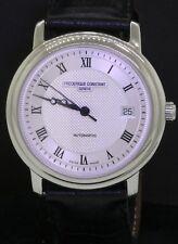 Frederique Constant SS 38.5mm automatic skeleton back men's watch w/ B & P